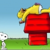 Homer Snoopy!